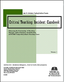 Critical Teaching Incident Casebook: Advancing the Scholarship of Teaching through Critical Analyses and Reflection of ACGME Competency Based Teaching Cases